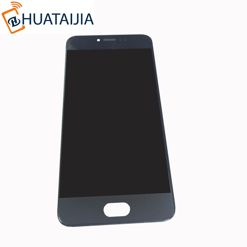 цена на LCD display screen+ Touch panel Digitizer with frame For 5.2'' Meizu pro 6 pro6 pro 6s pro6s white/black color Free shipping