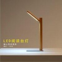 마그네틱 조인트 4000 켈빈 led 학습 램프 하드 우드 바디