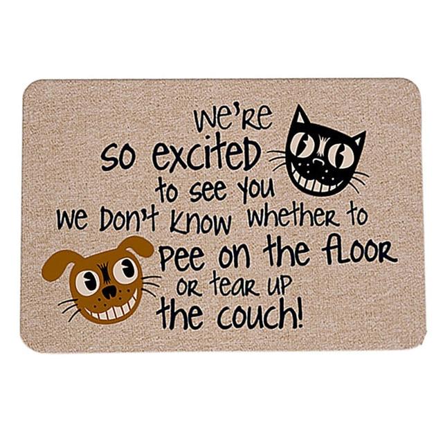 brixini.com - Cats & Dogs Non-slip Doormat