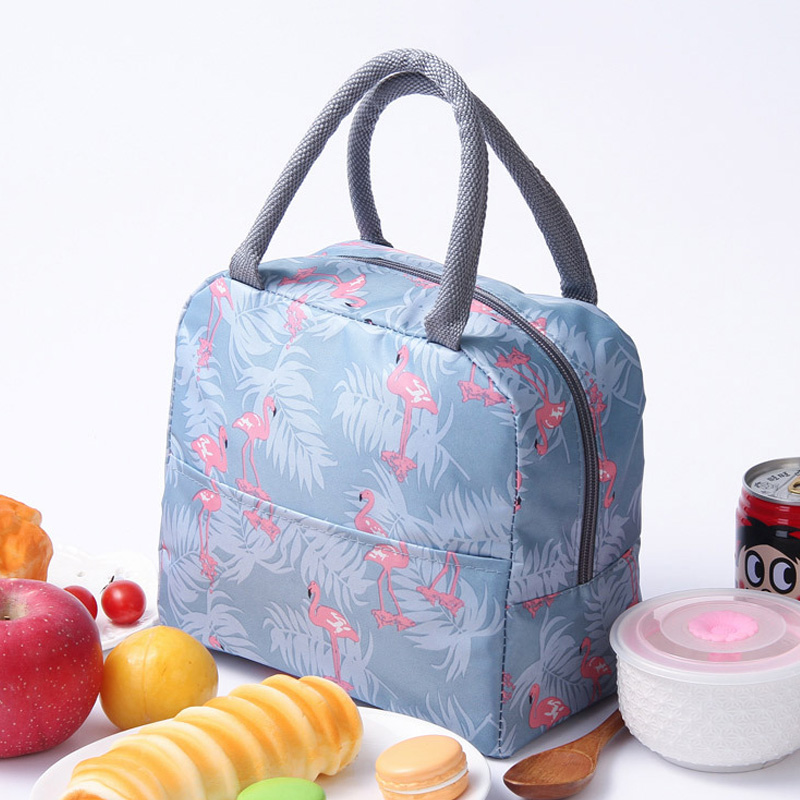 Funtional Thermal Insulated Bags Thickened Bento Tote Oxford Cloth Portable Working Lunch Bags For Women Picnic Cooler Box Case