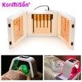 Konmison 4 cor led pdt acne fototerapia máquina de terapia de luz led máscara facial spa de beleza para o rejuvenescimento da pele acne removedor