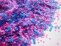 Brillo de uñas Multicolor Fluorescente Mini Ronda de Decoración Del Arte Del Clavo Lentejuelas DIY