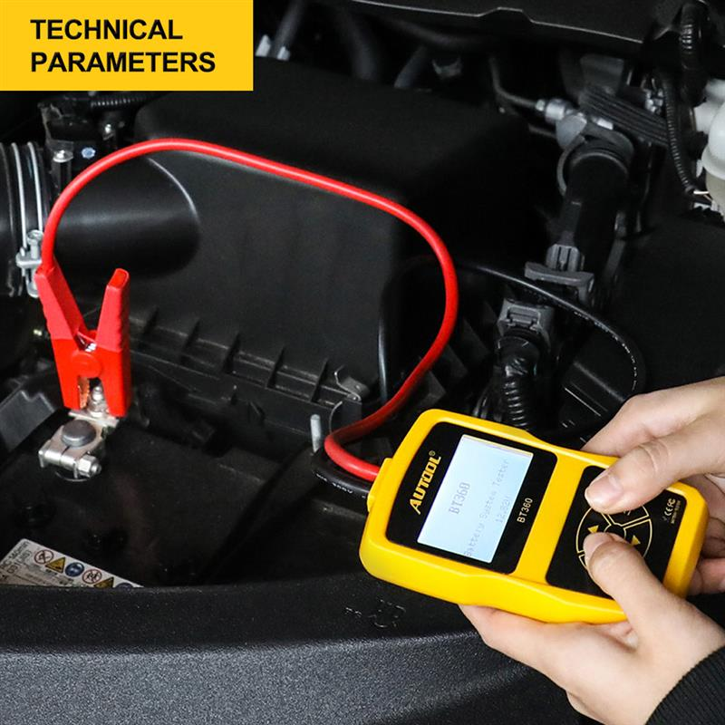 Car Battery Tester Multi-Languages Auto Scanner Vehicle Batteries Cranking Charging Analyzer BAD Cell Test Tools diagnostic tool