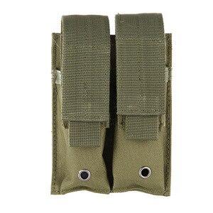 Image 3 - جديد في الهواء الطلق مسدس هواء غطاء القتالية العسكرية حقيبة صيد 600D النايلون رخوة اثنين اليد بندقية حقيبة مغلقة جلد حالة العملي