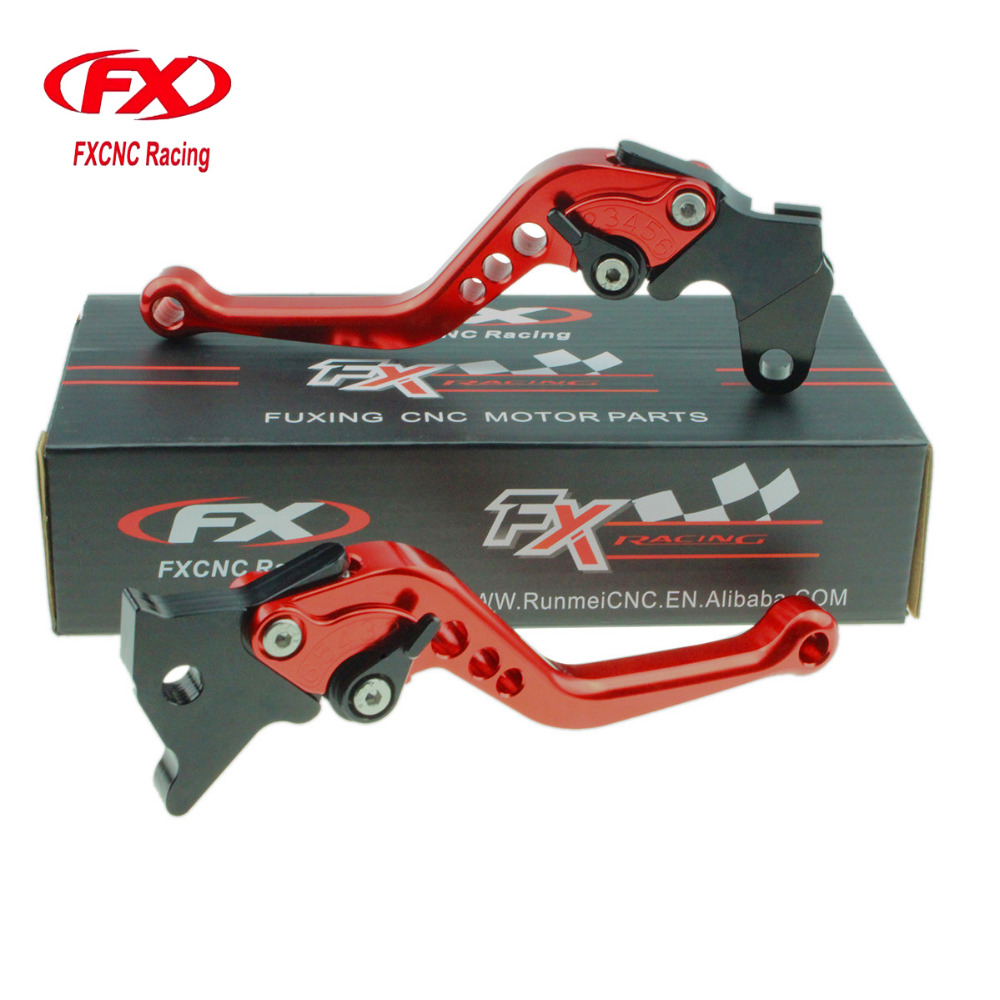 FXCNC Aluminum Adjustable Motorcycles Brake Clutch Levers For Yamaha YFM700 Raptor 700R 2000-2006 YZF 350 BANSHEE 1997-2008 fxcnc universal stunt clutch easy pull cable system motorcycles motocross for yamaha yz250 125 yz80 yz450fx wr250f wr426f wr450