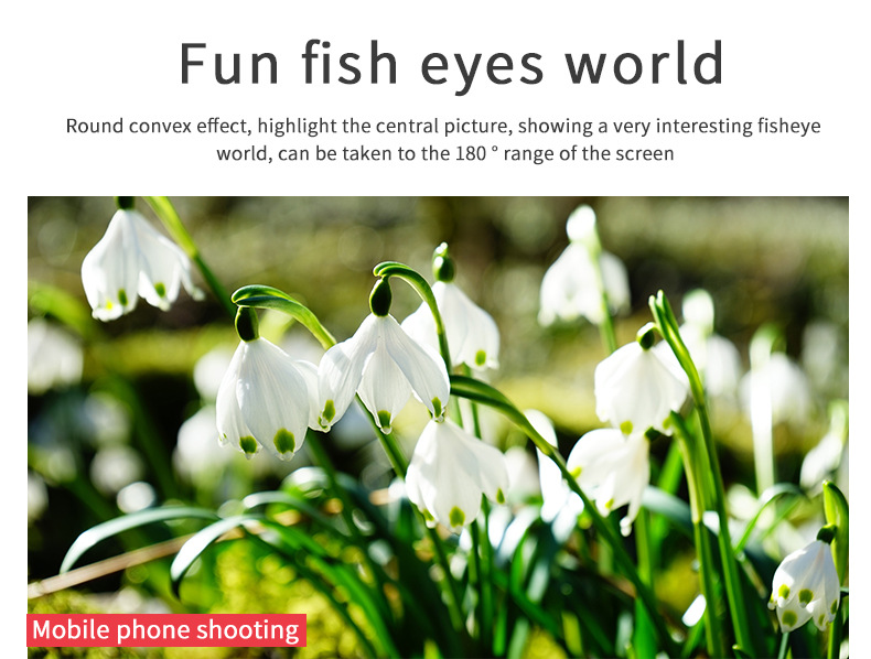 Cell Phone Camera Lens 4 in 1 Universal Professional Kit Fisheye Macro + Wide-angle + CPL Polarized Lens For iPhone Samsung 15