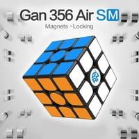 GAN 356 Air SM Speed Cube Met Magneten PositioningSusuperspeed Magneto magic Systeem Honingraat contact oppervlak 3x3 Cubes-wd