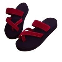 ALOHAKIM MAYA/2018 женские сандалии, летняя обувь, женские пляжные шлепанцы, женские Вьетнамки, zapatillas mujer Scarpe zapatos mujer