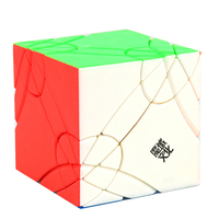 MoYu YJ8252 Axis Time Wheel Creative Magic Cube Puzzle Toys For Challenge Colorful