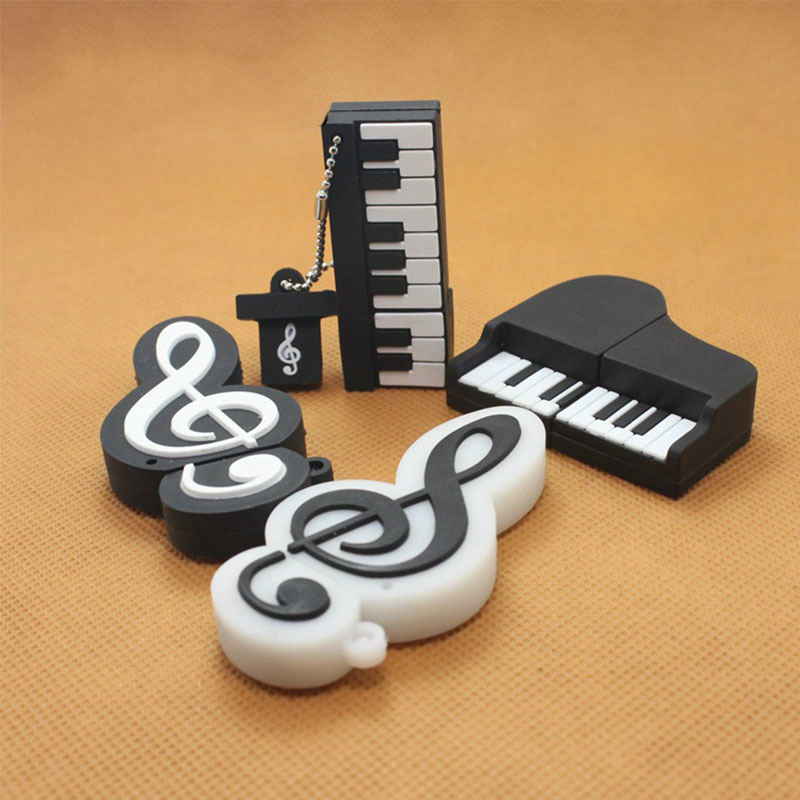 pen drive Piano Shape USB Flash Drive 4g 8g 16g 32g 64gb Usb disk USB 2