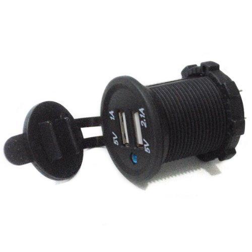 TOLYLE USB Marine Bateau Voiture Encastré Prise Mobile Chargeur