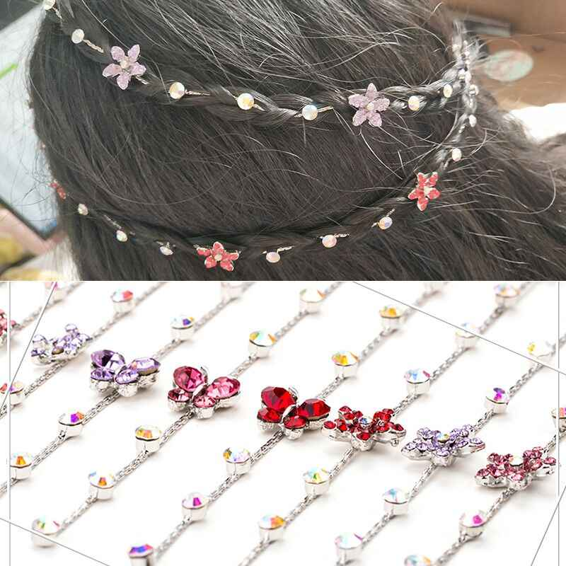 Bride Promotion Trendy Tiaras Tiara De Noiva 2018 New Student's Hair Chain Crown Ornaments Little Girl Princess Jewelry Pins