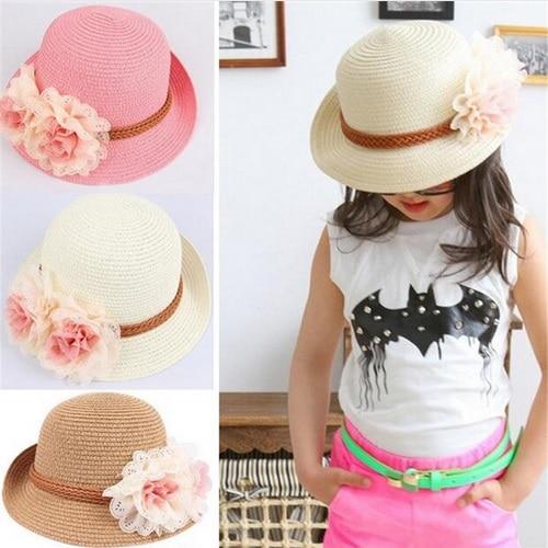 Baby Girl Hat avec Bow Knot Infant Beanie Cap Accessoires pour filles Kid Chapeaux Neuf