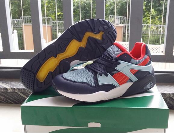 Original New Arrival  PUMA TRINOMIC BLAZE mens shoes Sneakers Badminton Shoes size40-44