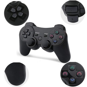 Image 2 - 2019 New arrival Wireless Game Controller with charging cable for PS3 gamepad Wireless 6 axis Double Shock