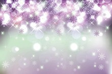 Laeacco Snowflake Glitter Light Bokeh Scene Baby Children Photography Backgrounds Custom Photographic Backdrop For Photo Studio