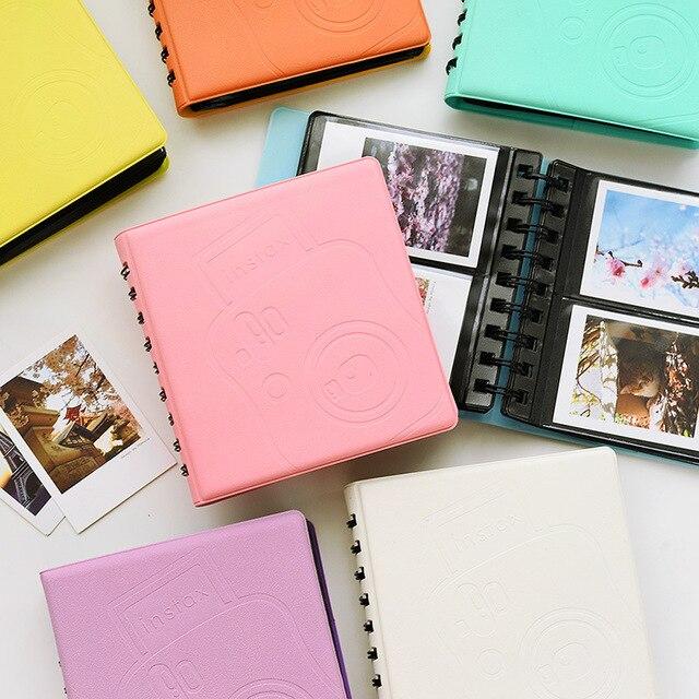 68 карманов мини мгновенный Полароид фотоальбом чехол для хранения для Fujifilm Instax Мини Фильм Корея Instax Мини альбом Lover