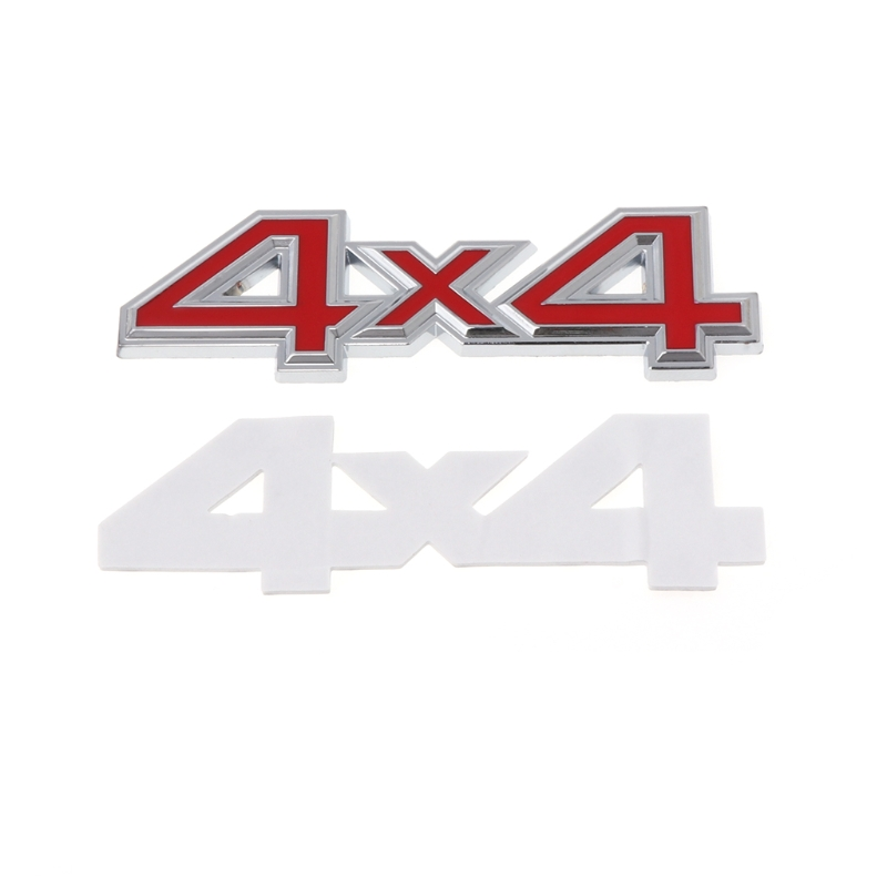 1pc 3D 4x4 Logo Emblem Badge Car Sticker ABS For Jeep Grand Cherokee Patriot