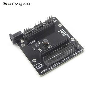 Image 5 - NodeMcu Base de prueba, Base de nodo MCU ESP8266, probador básico de Breadboard DIY, adecuado para NodeMcu V3