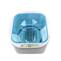 HIMOSKWA 12.8L Ultrasonic Cleaner Ozone Generator Fruit Vegetable Washer Household Food Disinfection Detoxification Machine 220V