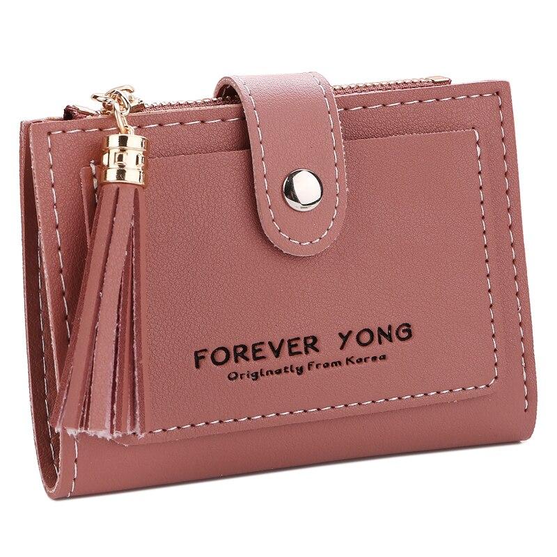 Women Wallets Lady Purses Candy Colors Coin Purse Cards Holder Money Bags Clutch Female Pouch Hasp Zipper Girls' Wallet New Bag стоимость
