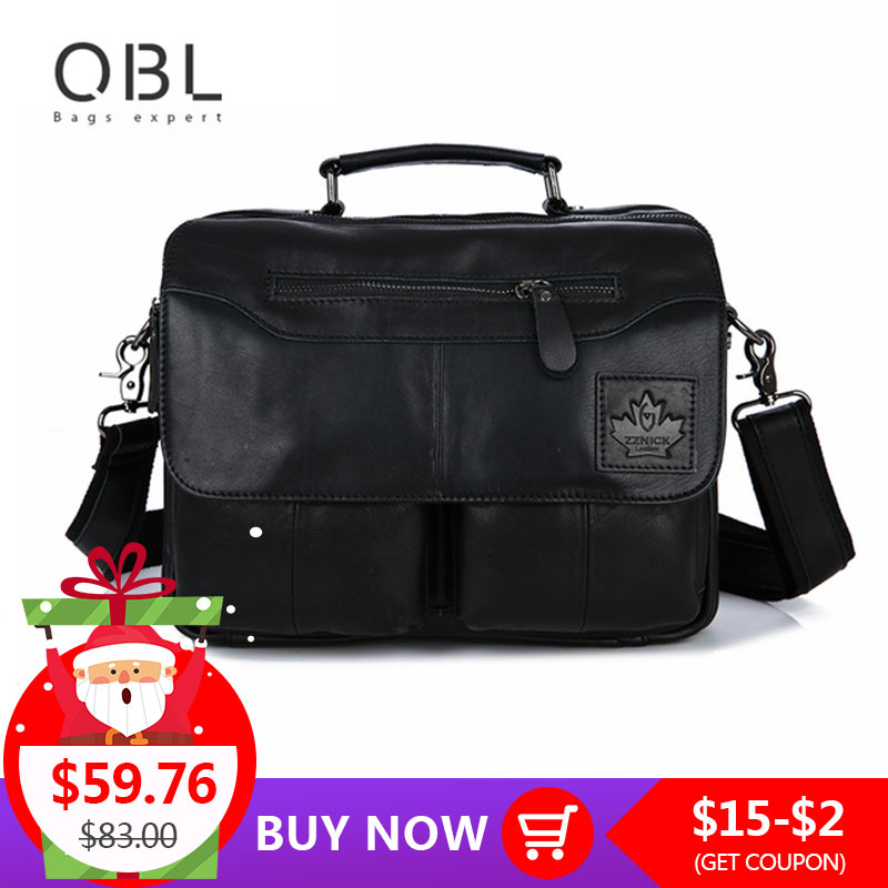 QiBoLu 2018 Cow Genuine Leather Handbag Men Messenger Shoulder Crossbody Bag Sacoche Homme Bolsa Masculina Bolso Hombre MBA70QiBoLu 2018 Cow Genuine Leather Handbag Men Messenger Shoulder Crossbody Bag Sacoche Homme Bolsa Masculina Bolso Hombre MBA70