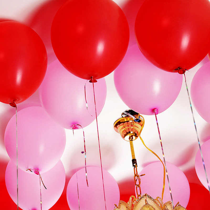 100 個/ロールドットスーパー両面ゴム接着バルーンパーティー結婚式の装飾ベビーシャワーの誕生日パーティーの装飾子供
