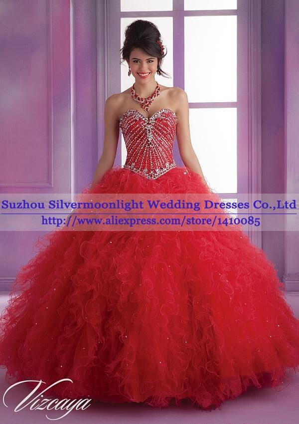 Online Get Cheap Red Sweet Sixteen Dresses -Aliexpress.com ...