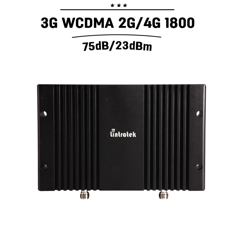 75dB Gain GSM 1800 3G WCDMA 2100 Cellular Signal Repeater DCS 1800mhz UMTS 2100mhz Mobile Phone Booster 23dBm Power Amplifier#30