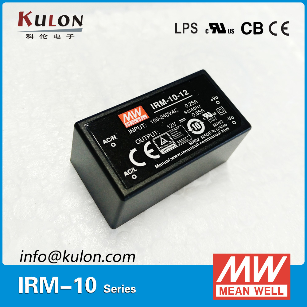 Original MEAN WELL IRM-10-5 single output 2A 5V 10W encapsulated meanwell power supply IRM-10