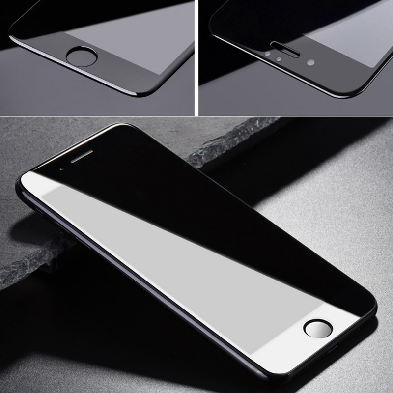 Suntaiho Tempered Glass for iphone XR 6D Screen Protector for iphone 8plus 7 Glass for iphone Xs Max Full Cover film Curved Edge