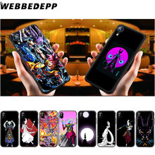 Dragon Ball Z Whis WEBBEDEPP beerus Soft Case de Silicone para iPhone 11 Pro Xr Xs Max X ou 10 8 7 6 6S Plus 5 5S SI Caso 8 Plus(China)