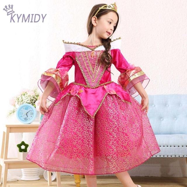 Niña Vestido de La Princesa Fiesta de Disfraces de la Bella ...