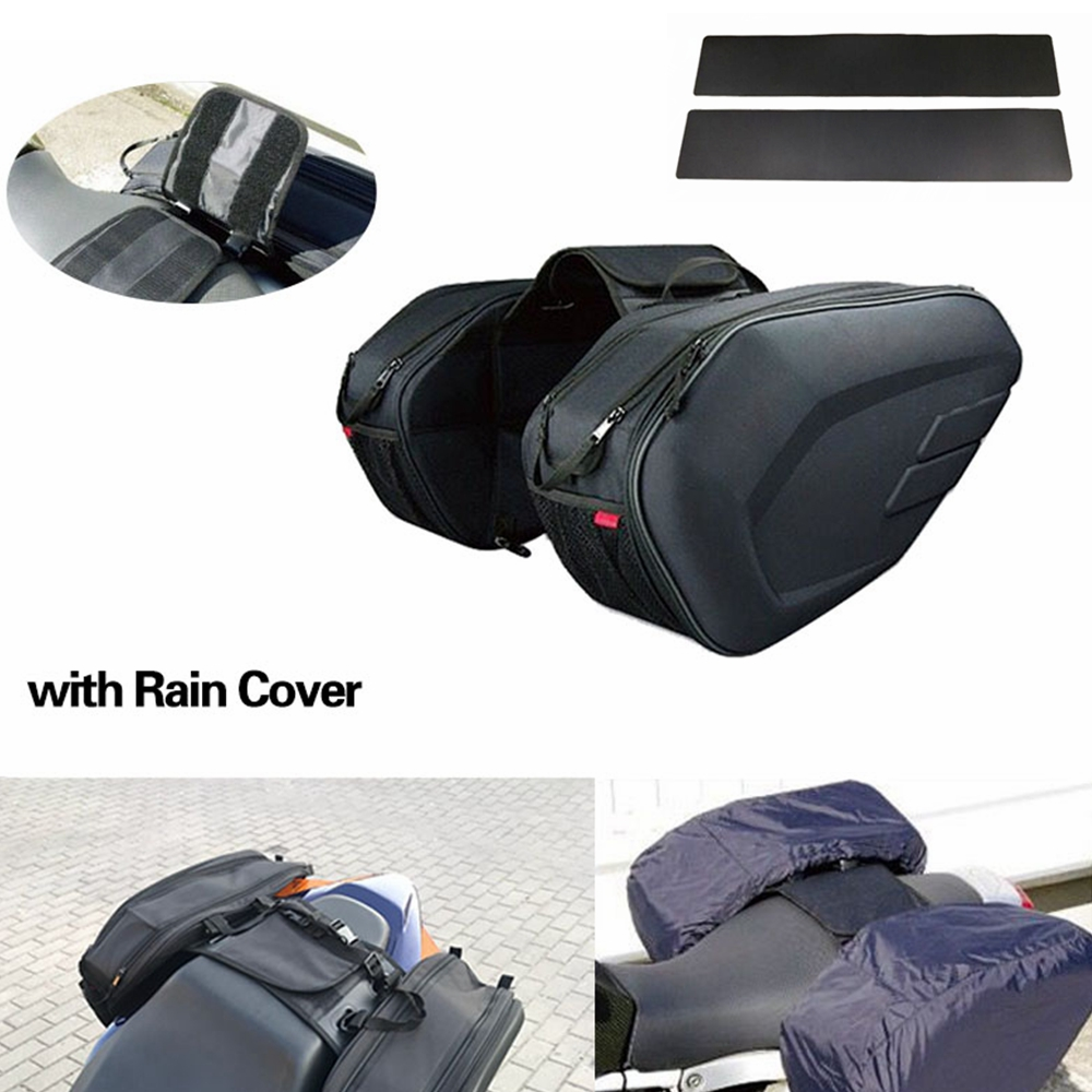 Accessories Motorcycle Saddle bags Moto Riding Helmet Travel Bag Side Bag Tail Luggage Suitcase with Rain Cover and Plastics 22 кофры komine