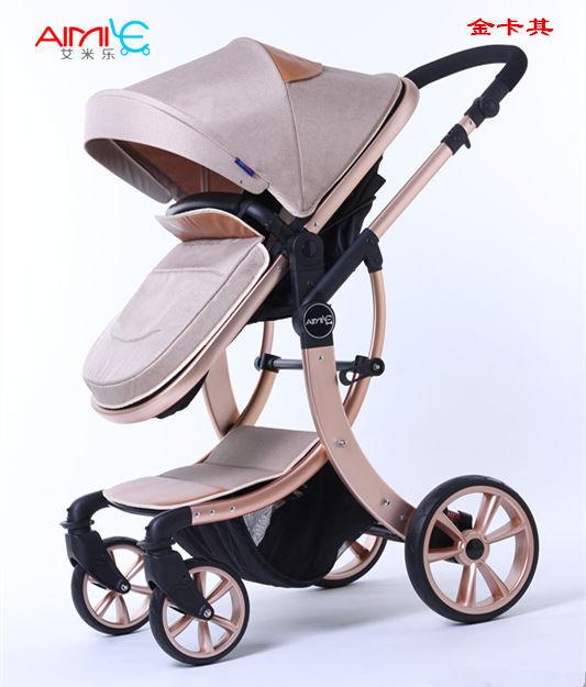 Amortecedores carrinho de bebê carrinho de bebê carrinho de criança dobrável luz 4 runner