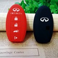 Car styling silicone key cover case skin 4 buttons for Infiniti EX FX G25 G37 FX35 EX25 EX35 FX37 EX37 Q60 QX50 QX70