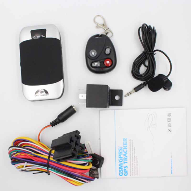 GPS Tracker TK303H For Vehicle Motorcycle and Private Car 6V 40V Geo fence Over Speed ARM