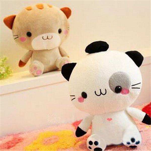 Japanese Rice Balls Cat Lovers Cute Plush Toy Stuffed Doll Birthday Gift Wedding Present