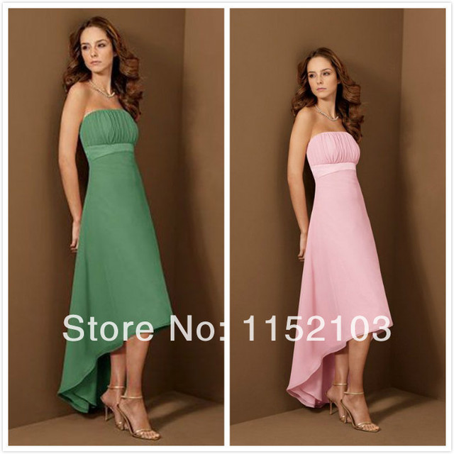 Bright Color Bridesmaid Dresses