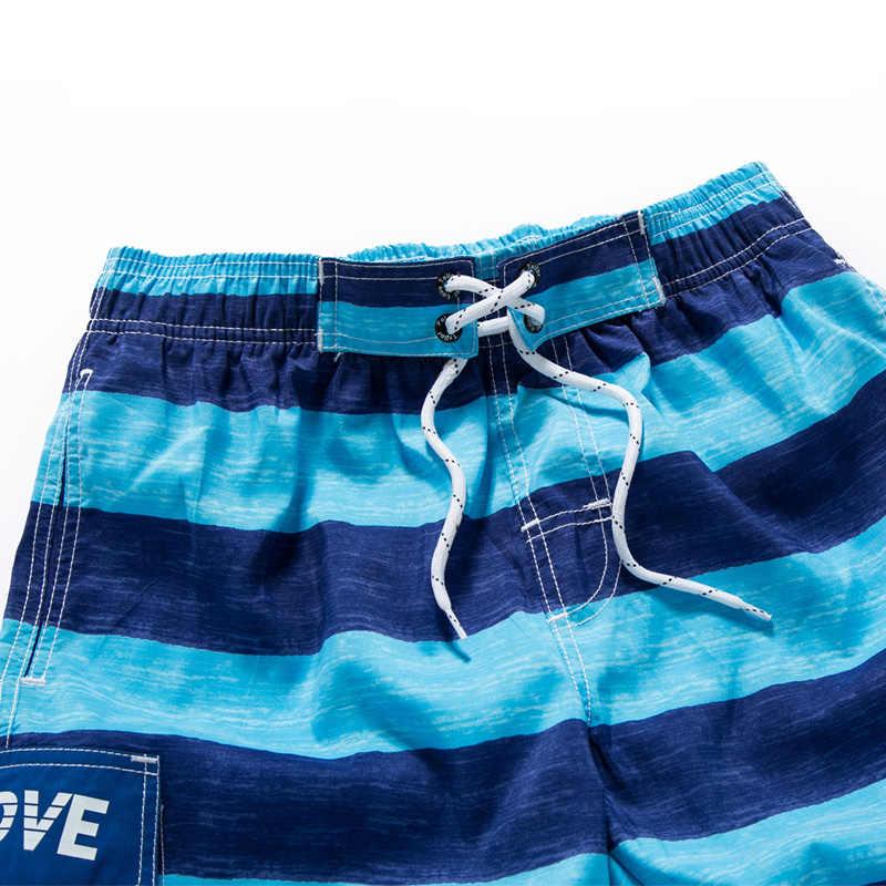 Plaj şortu Kurulu Şort Egzersiz Kısa Erkek Mayo Astar Örgü Ter erkek mayoları Siwmsuits Erkek Banyo Takım Elbise Sörf Bermuda