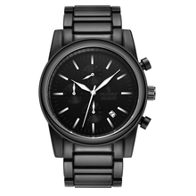 купить watch men  Relogio Men's Watches Fashion black Man Watch 2019 Luxury Brand Waterproof Quartz Analog Wrist Watch Reloj Hom дешево