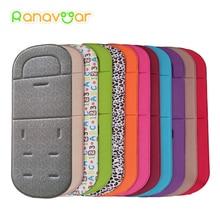 Удобный коврик для детской коляски, Всесезонная мягкая подушка для сиденья, детский коврик для коляски, подушка для коляски для 0-27 м