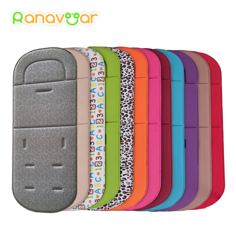 New Comfortable Baby Stroller Pad Four Seasons General Soft Seat Cushion Child Cart Seat Mat Kids Pushchair Cushion For 0-27M