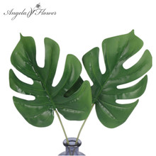 Flower-Accessories Green-Plants Real-Touch Simulation Leaf Wedding-Decoration Back-Leaves