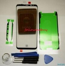 Dành Cho Samsung Galaxy Samsung Galaxy S8 S8 Plus G950 G955 Trước Màn Hình Kính Cường Lực Kính Bên Ngoài Sửa Chữa Thay Mặt Trước Sau