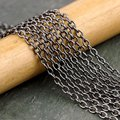 100 M / бронза кабель цепь ссылка бронза цепь 4 x 3 мм