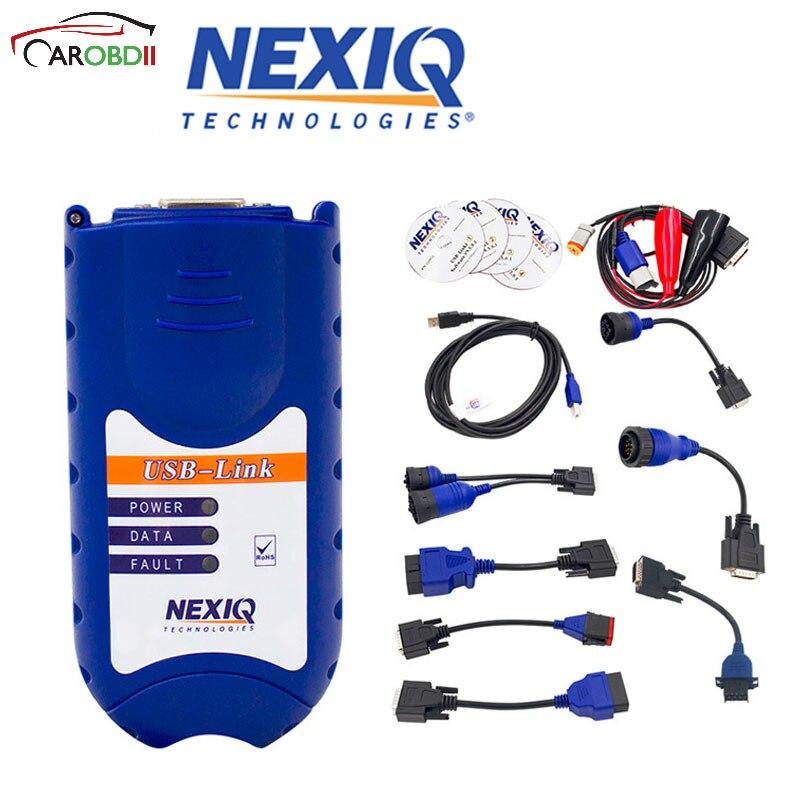 NEXIQ USB Link On Sale Nexiq 125032 Usb Link NEXIQ USB LINK NEXIQ Auto Heavy Duty Truck Scanner Tool DHL