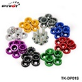 8PCS/LOT JDM Style Fender Washers Bumper Washer Lisence Plate Bolts Kits for CIVIC ACCORD TK-DP01S High Quality
