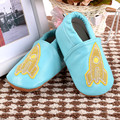 New Baby Moccasins Cartoon Rockets Genuine Leather Bebe newborn Non-slip Indoor Baby shoes First Walkers Free shipping