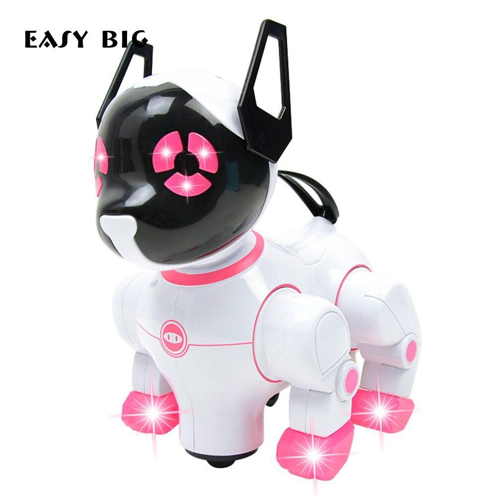 Facile grande marche aboiement danse électrique animaux jouet drôle jouet chien enfants enfants cadeau jouets TH0051